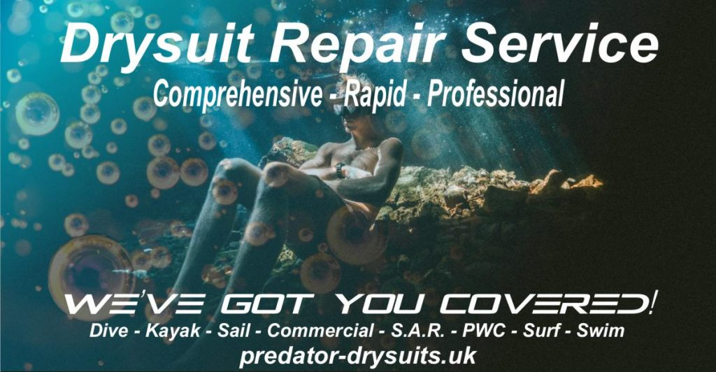 Drysuit Repairs UK